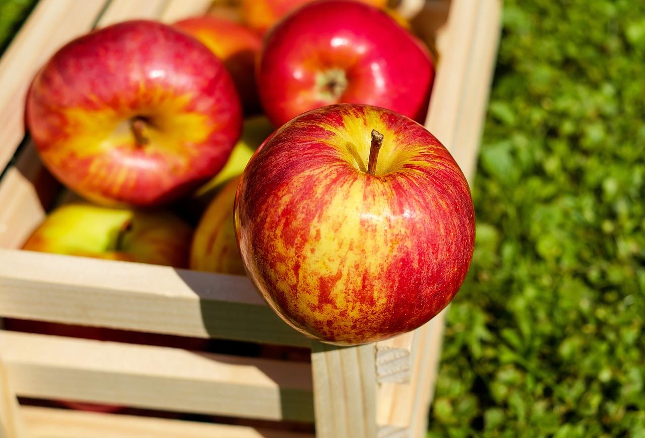 Beneficios de la manzana roja
