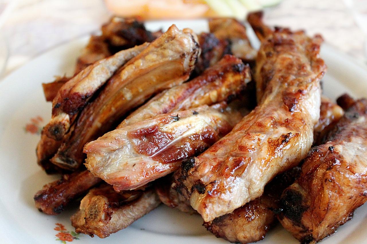 Costillas de cerdo al horno