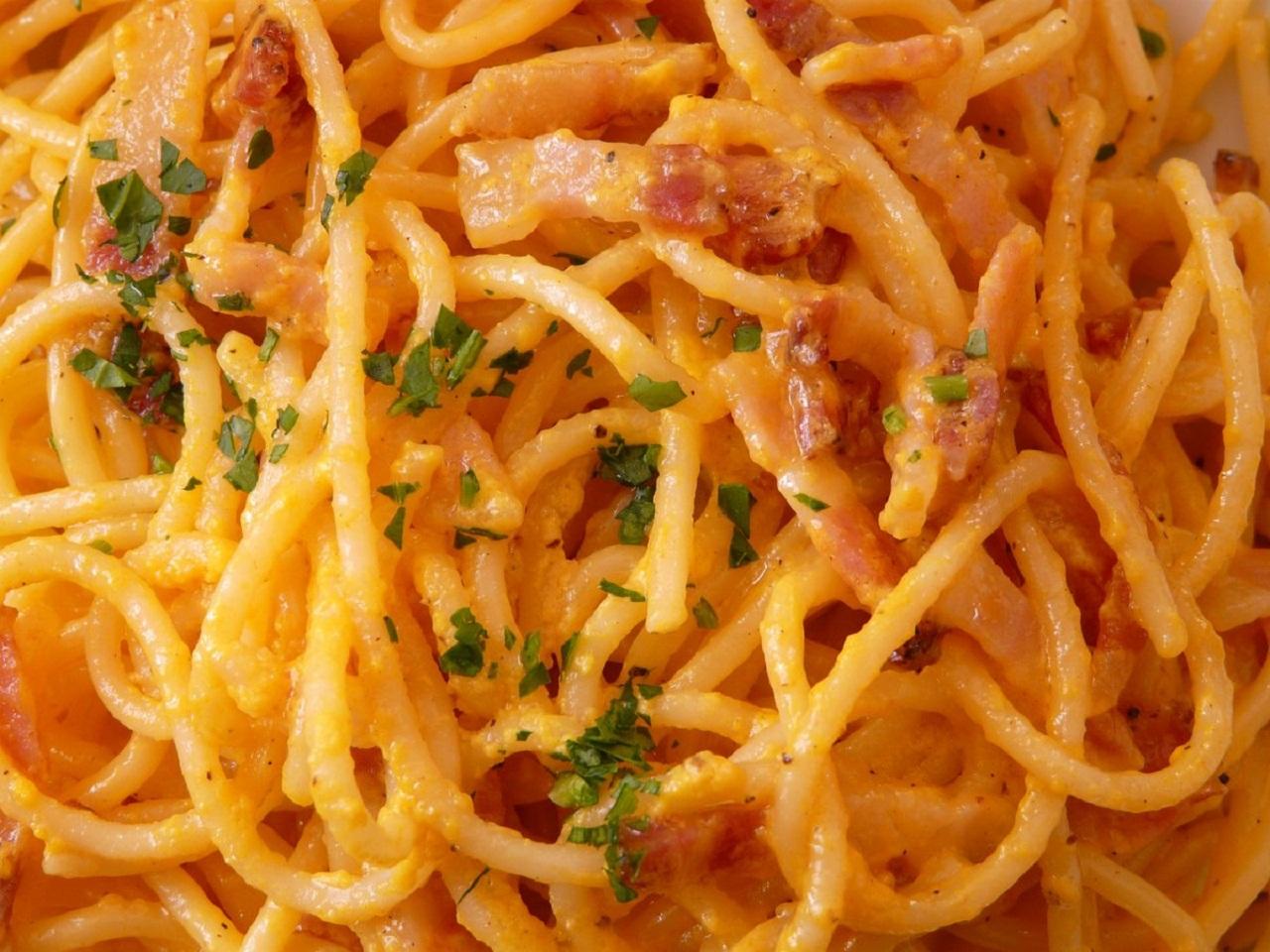 Espaguetis con pollo