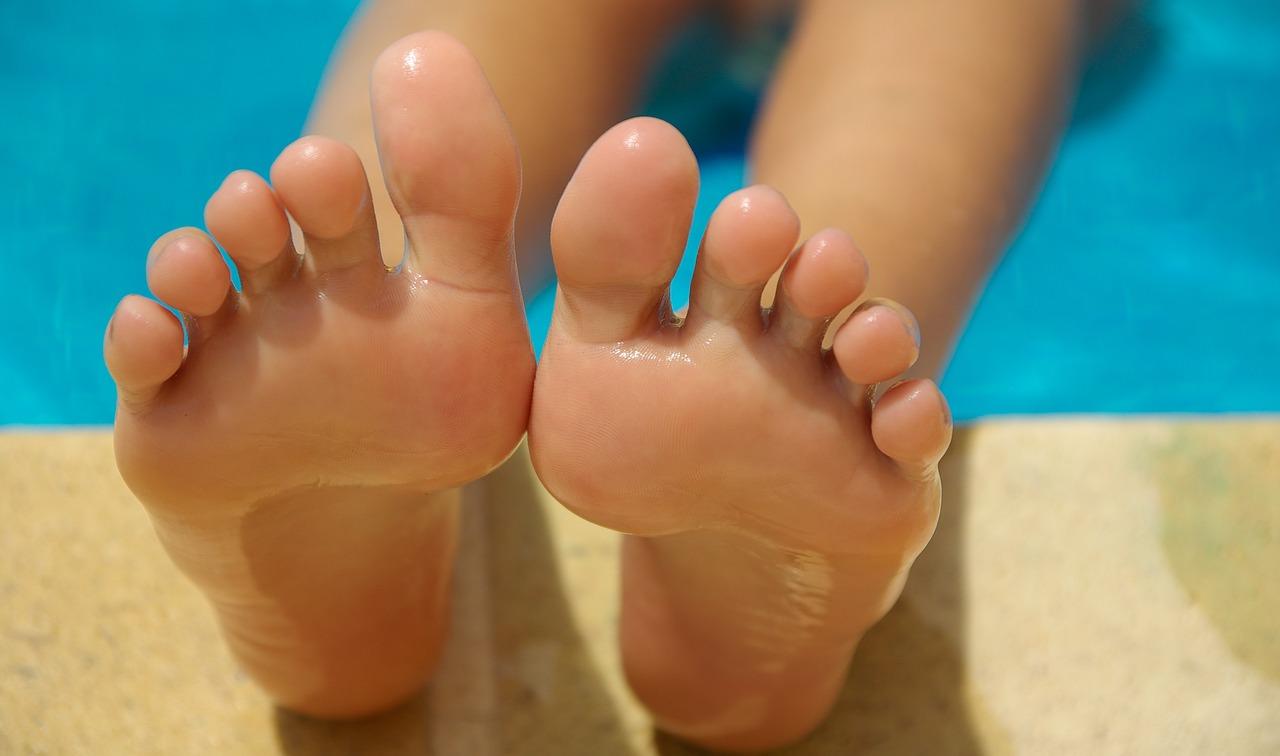 Forma de los pies