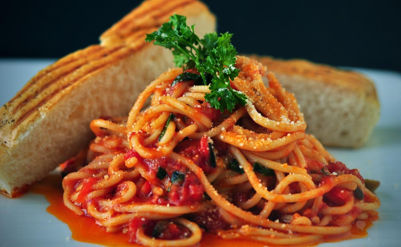 Receta de espagueti rojo